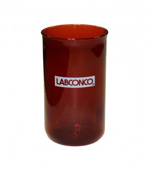 600 ml Fast-Freeze Flask Bottom, Amber