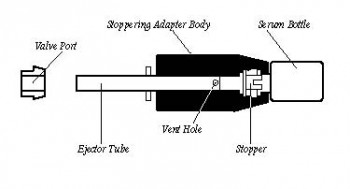 Vacuum Stoppering Adapter