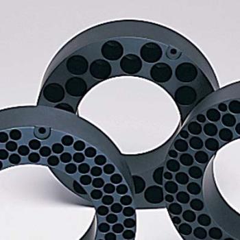 26 Tube Capacity Teflon-Coated Aluminum Block