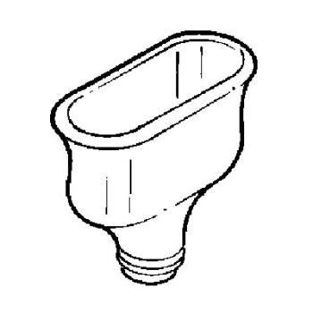 Oval Polypropylene Cupsink
