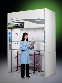 Echo Floor-Mounted Fume Hood with model 2016