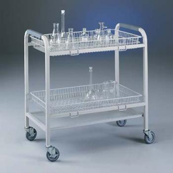 Large Basket for Glassware Cart