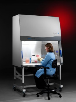 4' Purifier Logic Class II, Type A2 Biological Safety Cabinet with 8