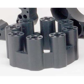 12 x 75 mm OD Sample Tube Teflon-Coated Aluminum Block
