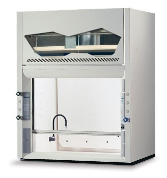 8' Protector PVC Perchloric Acid Laboratory Hood, 115V