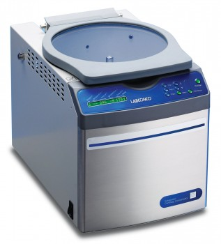 Refrigerated CentriVap Benchtop Vacuum Concentrator with glass lid