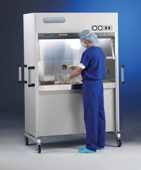 PuriCare Vertical Flow Station with model