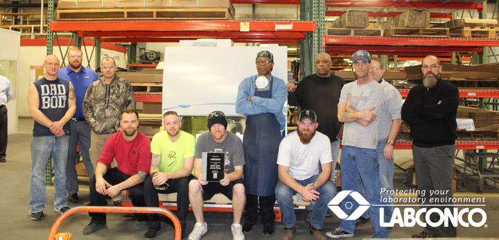 The Award Winning Axiom Manufacturing Team