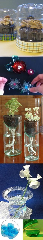 Water Bottles Repurposed-220