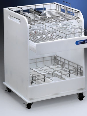 ScrubberMate Glassware and Rack Cart