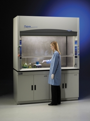 Stainless Steel Perchloric Hood with model 1200