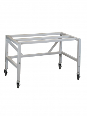 Telescoping Base Stand with Casters for Horizontal Clean Benches
