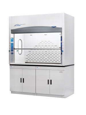 Protector XStream I-S Fume Hood on Cabinet