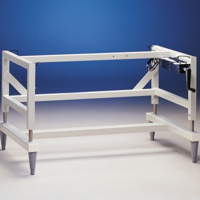 Manual Hydraulic Lift Base Stand
