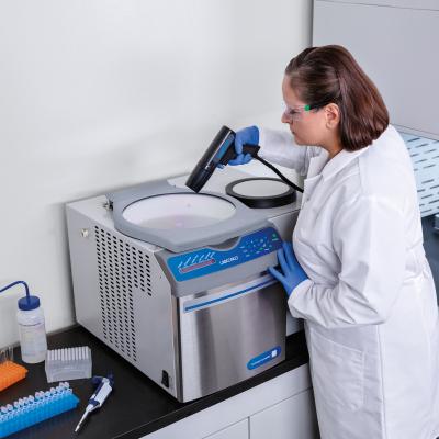 CentriVap Complete Vacuum Concentrator with Scientist
