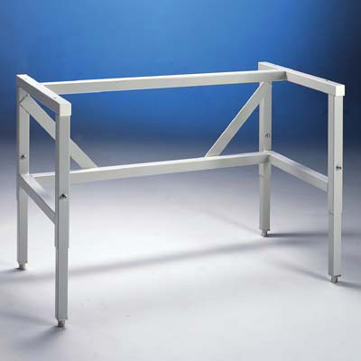 Telescoping Base Stands with Fixed Feet