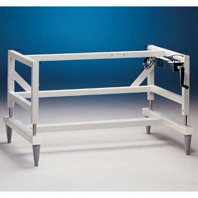 Manual Hydraulic Lift Base Stands