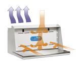 Protector Downdraft Powder Station Airflow Diagram