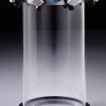 7318800 Tall Clear Chamber with Valves