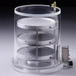 Heated Product Shelf Chamber-Short_For Lyophilizing bulk samples