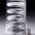 Heated Product Shelf Chamber-Tall_For lyophilizing bulk samples
