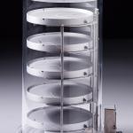 Heated Product Shelf Chamber-Tall_For lyophilizing bulk samples