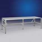 Horizontal Clean Bench Telescoping Base Stand
