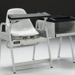 Blood Drawing Chair with Storage Cabinet