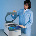 CentriVap Benchtop Centrifugal Vacuum Concentrator with acrylic lid and Heat Boost
