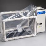 Expandable CApture Fuming Tent Kit setup 800