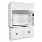 4' Protector Echo Filtered Benchtop Hood, Acid Sensor, side windows 230V