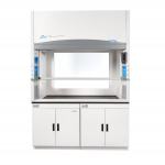 4' Protector Echo Filtered Benchtop Hood, Formaldehyde Sensor, side and back windows 115V