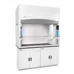 4' Protector Echo Filtered Benchtop Hood, Formaldehyde Sensor, side windows 230V