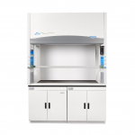 5' Protector Echo Filtered Benchtop Hood, Acid Sensor, side and back windows 230V