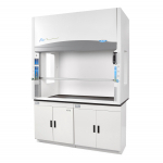 4' Protector Echo Filtered Benchtop Hood, Acid Sensor, side windows 115V