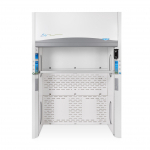 4' Protector Echo Floor-Mounted Filtered Fume Hood 230V