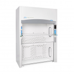 8' Protector Echo Floor-Mounted Filtered Fume Hood, HEPA Only 115V