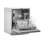 FlaskScrubber Glassware Washer, Open with Glassware