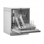 FlaskScrubber Glassware Washer, Open with Graduated Cylinders