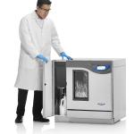 FlaskScrubber Vantage Glassware Washer with Scientist Opening Storage
