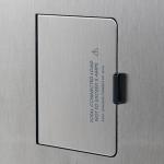 Logic Plus Detail Flush Cover Damped Duplex 800