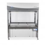 Logic Vue Class II Enclosure with sash at working height, straight