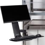 Logic Vue Monitor & Keyboard Arm