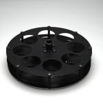 100 ml Pear-Shaped Rotors 7553100-1000