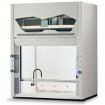 4' Protector PVC Acid Digestion Laboratory Hood, 2 Fixtures, 1 Receptacle, 115V