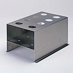 Eight-Place Stainless Steel Rack for 170 ml Tubes