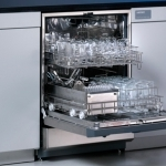 Undercounter SteamScrubber 33 Glassware Washer with Viewing Window and Light
