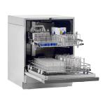 SteamScrubber Glassware Washer, Open with Glassware