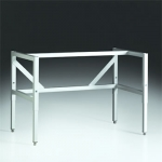 Telescoping Base Stands with Casters or Fixed Feet