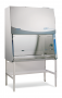 "6' Purifier Logic+ Class II A2 Biological Safety Cabinet with 10"" sash opening, UV Light, Service Fixtures, Vacu-Pass Portal and Base Stand"